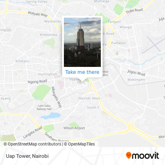 Uap Tower map