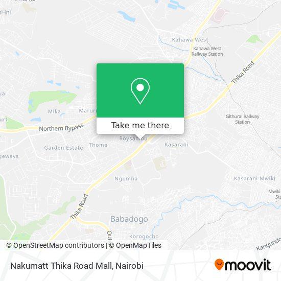Nakumatt Thika Road Mall map