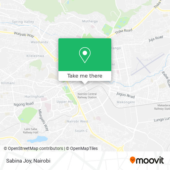 Sabina Joy map