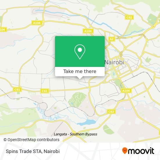 Spins Trade STA map