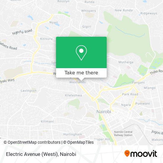 Electric Avenue (Westi) map