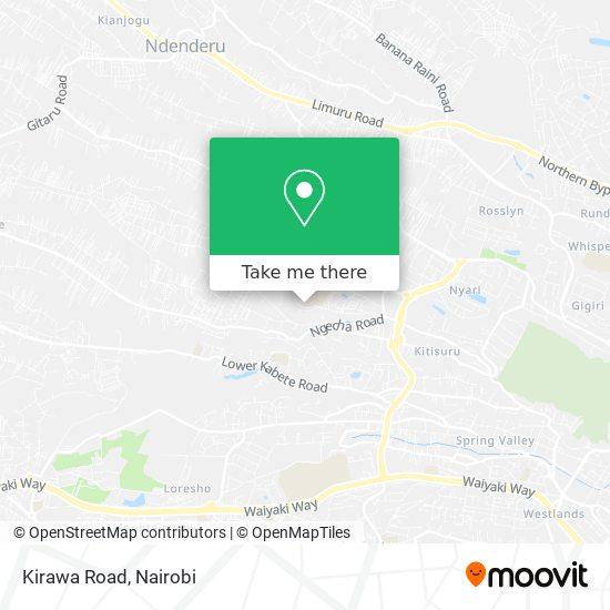 Kirawa Road map