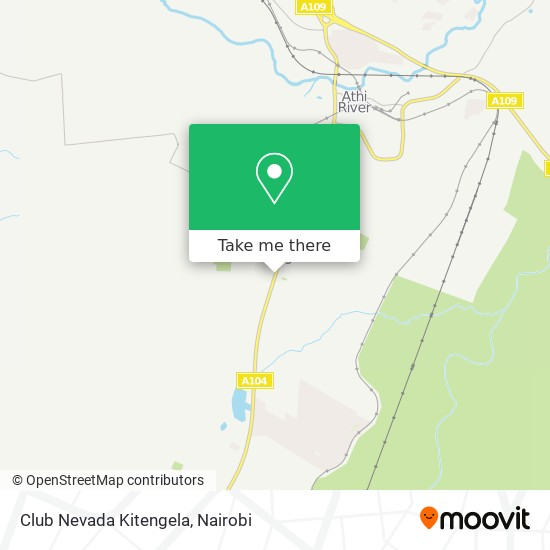 Club Nevada Kitengela map