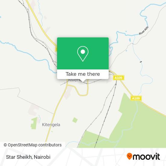 Star Sheikh map