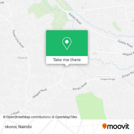 nkoroi map