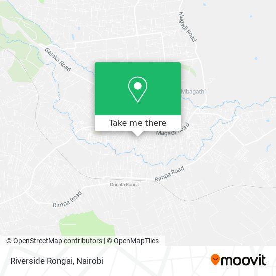 Riverside Rongai map