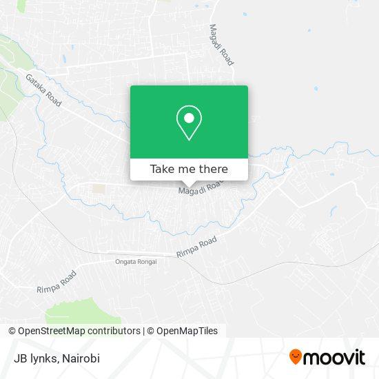 JB lynks map
