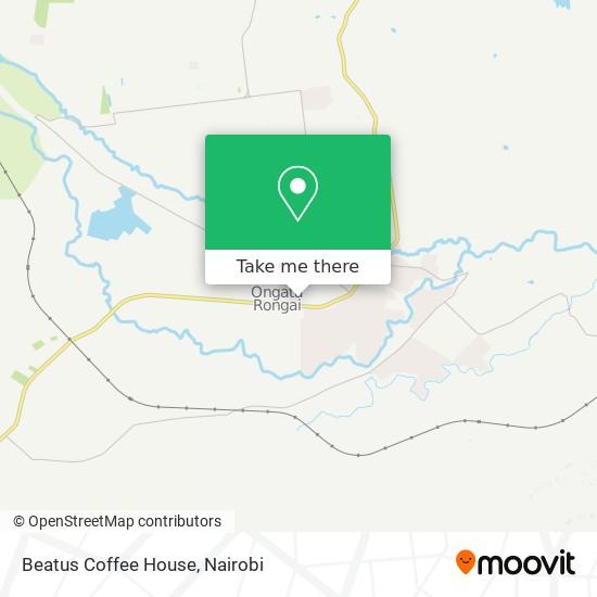 Beatus Coffee House map