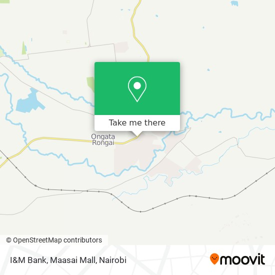 I&M Bank, Maasai Mall map