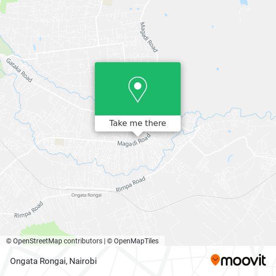 Ongata Rongai map