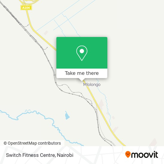 Switch Fitness Centre map