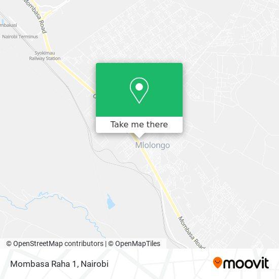 Mombasa Raha 1 map