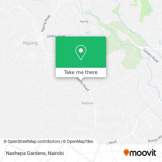 Nashepa Gardens map