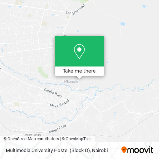 Multimedia University Hostel (Block D) map