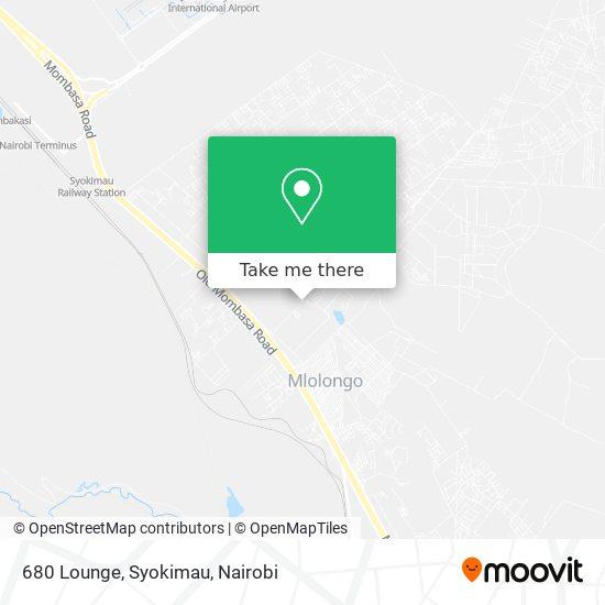 680 Lounge, Syokimau map