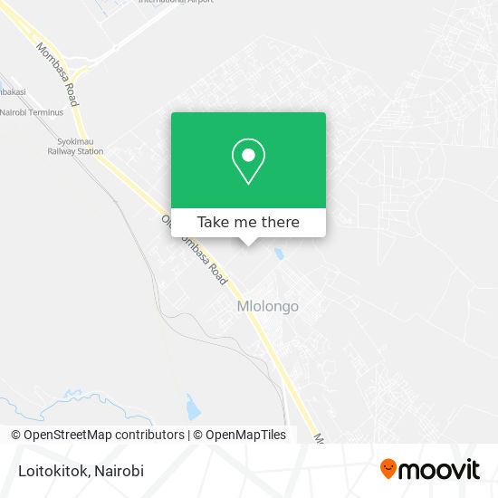 Loitokitok map
