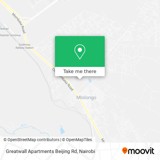 Greatwall Apartments Beijing Rd map