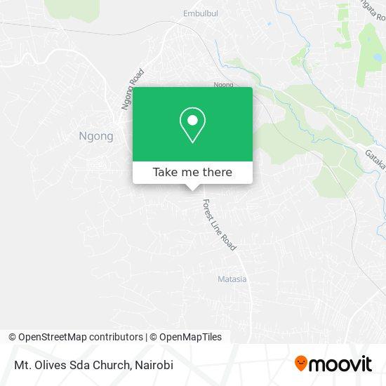 Mt. Olives Sda Church map