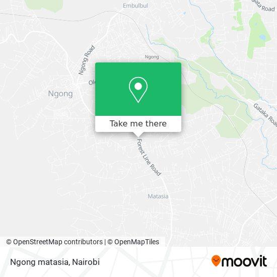 Ngong matasia map