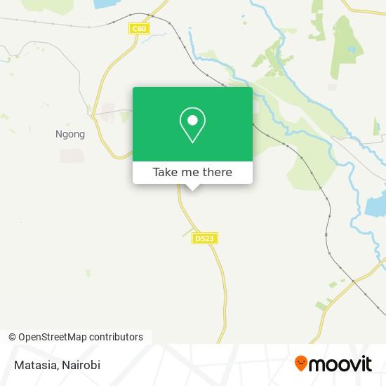 Matasia map
