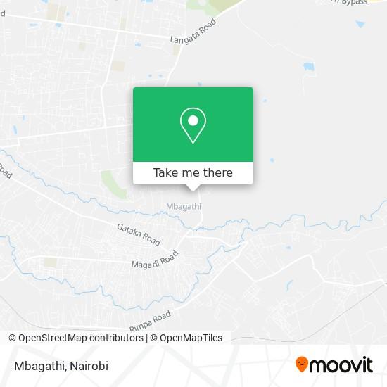 Mbagathi map