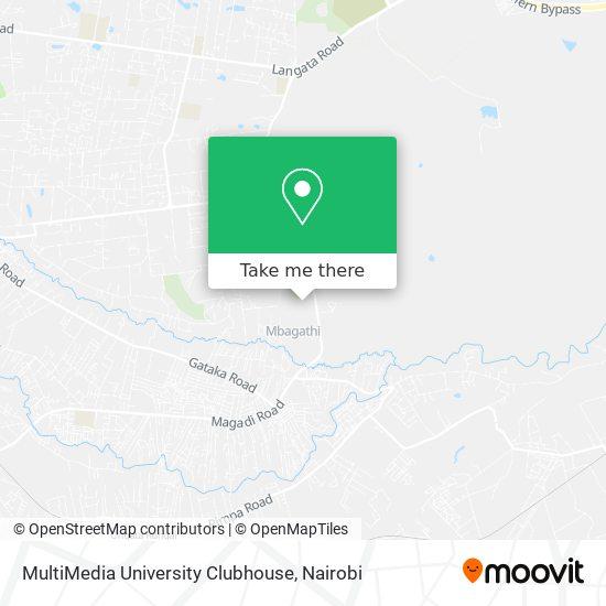 MultiMedia University Clubhouse map