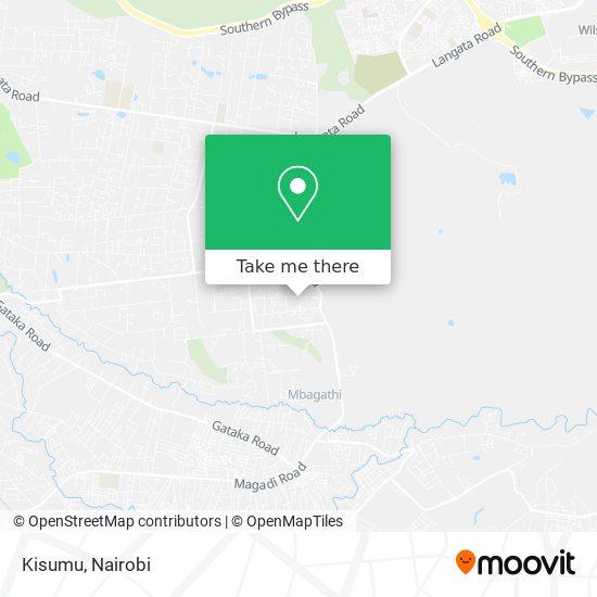 Kisumu map