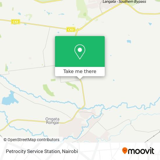 Petrocity Service Station map