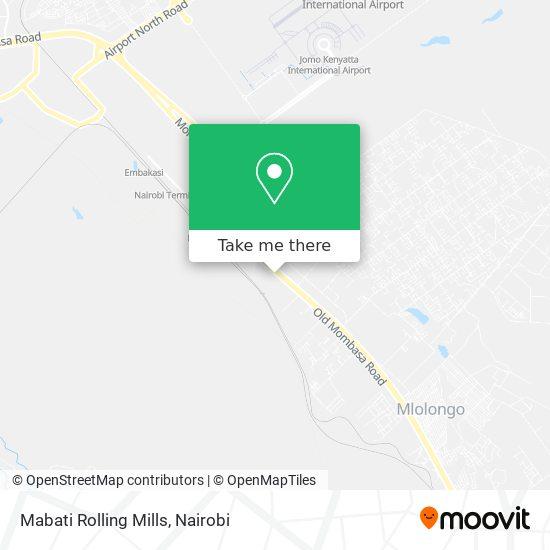 Mabati Rolling Mills map