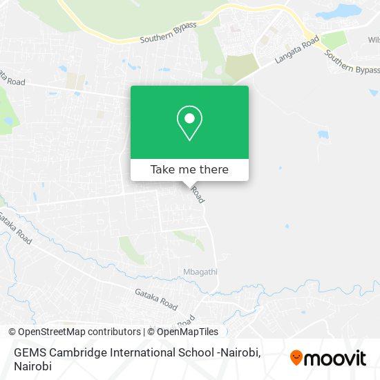GEMS Cambridge International School -Nairobi map
