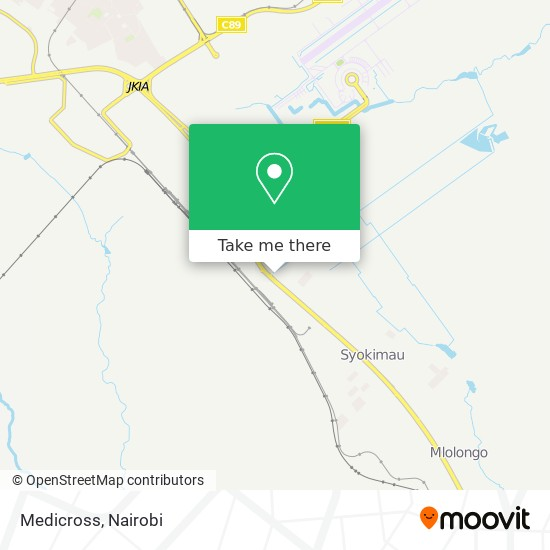 Medicross map