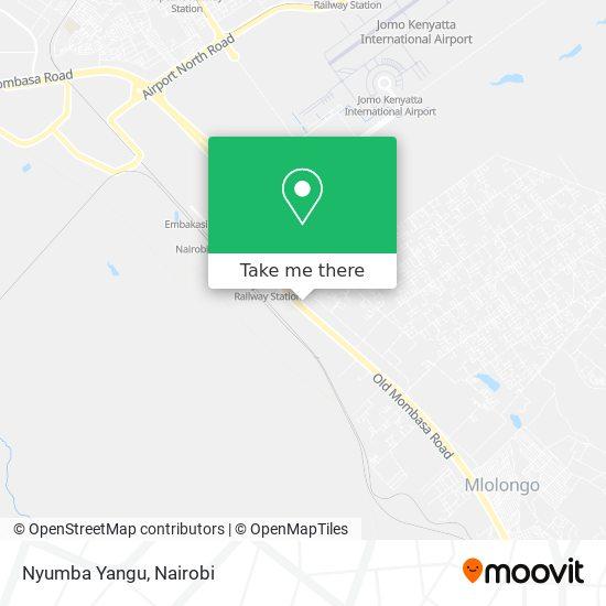Nyumba Yangu map