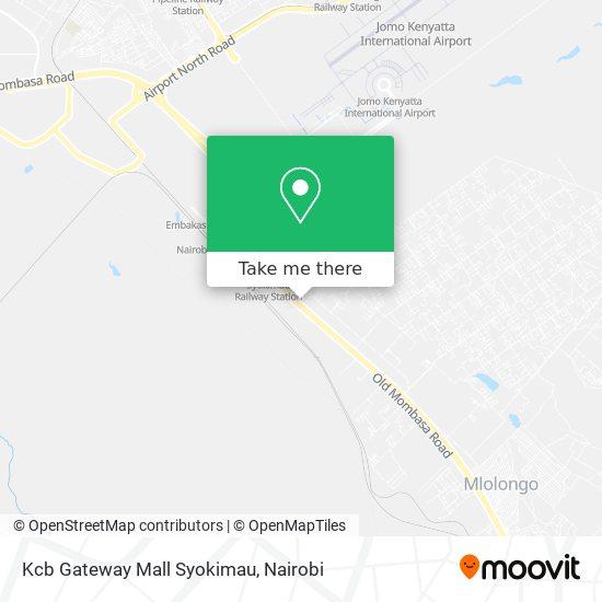 Kcb Gateway Mall Syokimau map