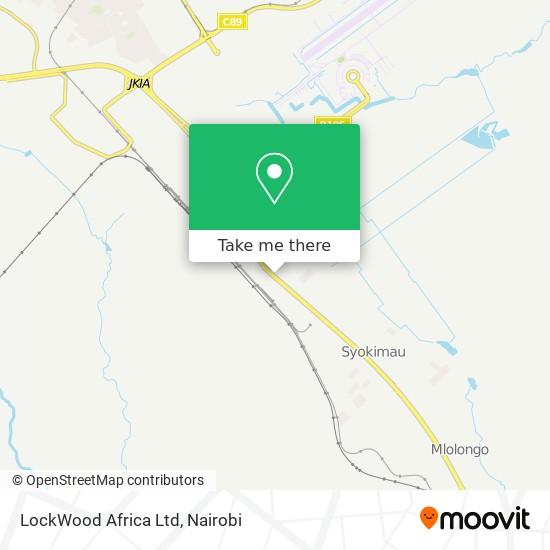 LockWood Africa Ltd map