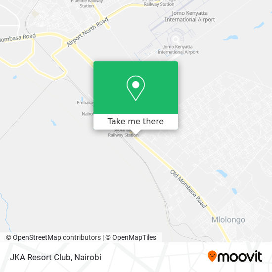 JKA Resort Club map