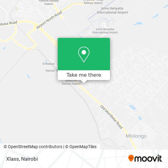 Xlass map