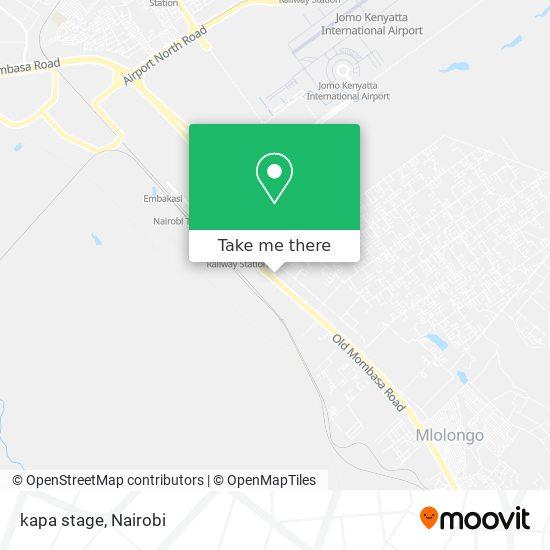 kapa stage map
