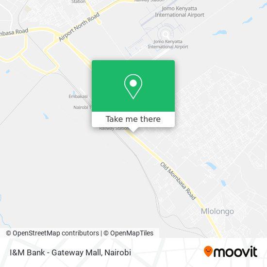 I&M Bank - Gateway Mall map