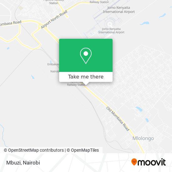 Mbuzi map