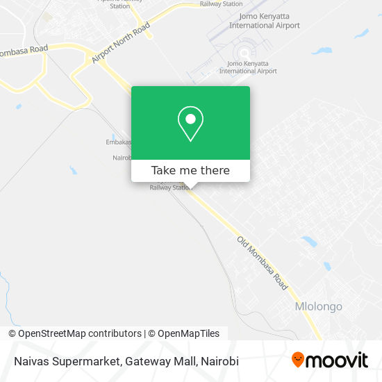 Naivas Supermarket, Gateway Mall map