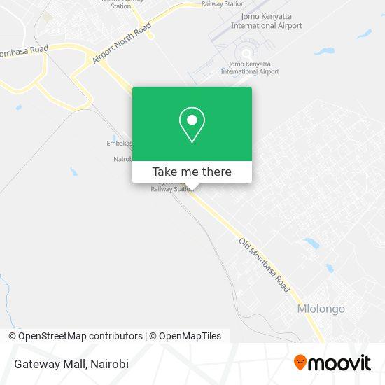 Gateway Mall map