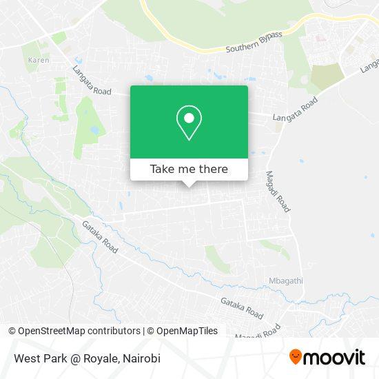 West Park @ Royale map
