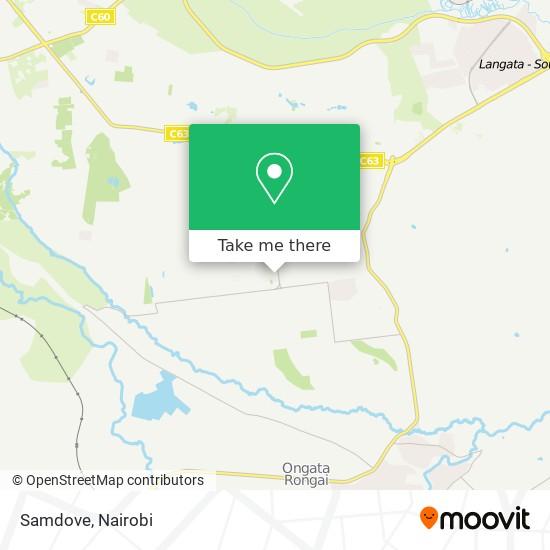Samdove map
