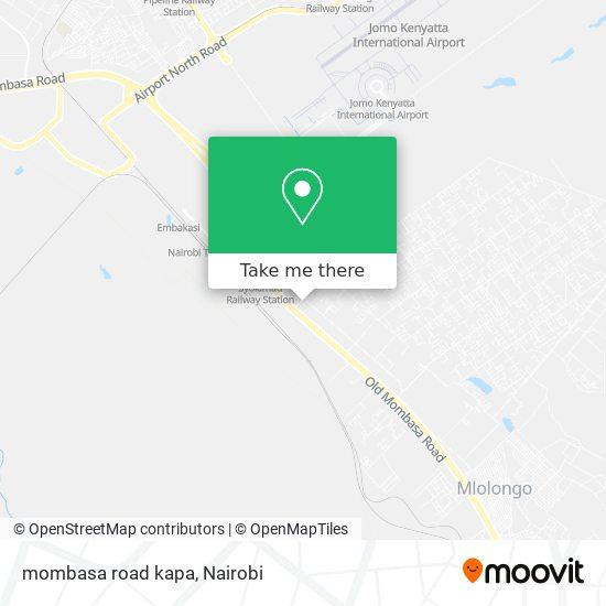 mombasa road kapa map