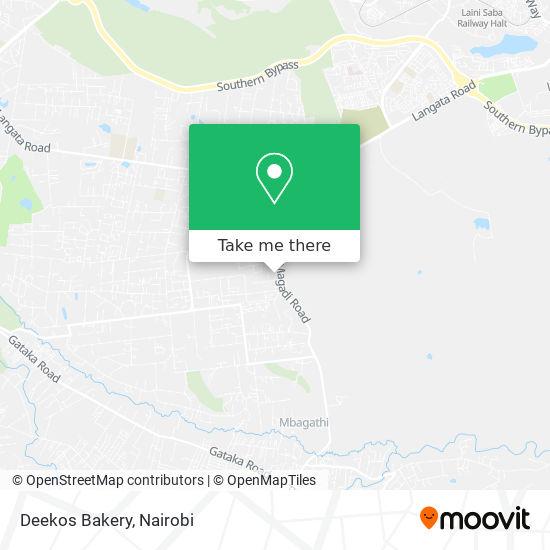 Deekos Bakery map