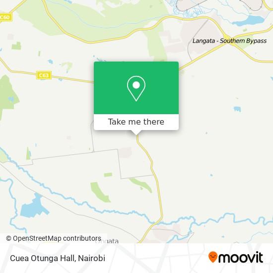 Cuea Otunga Hall map