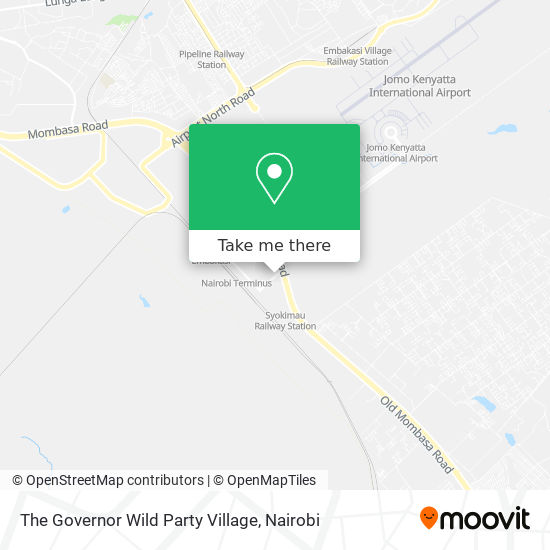 The Governor Wild Party Village map