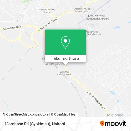 Mombasa Rd (Syokimau) map