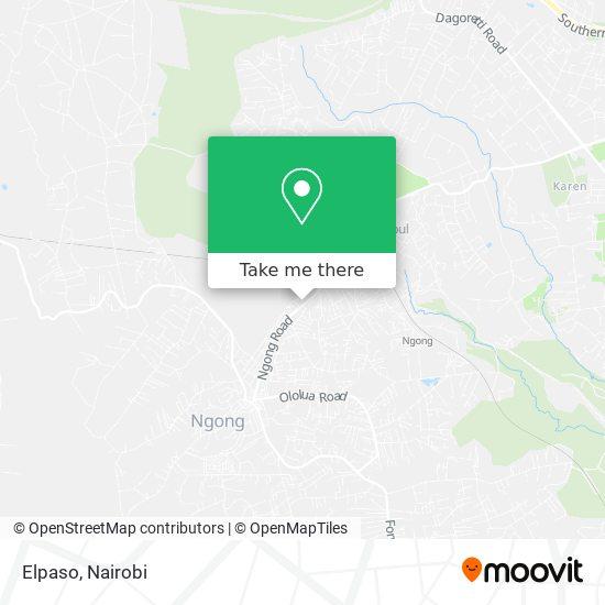 Elpaso map