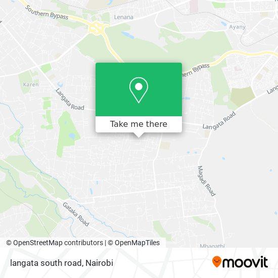 langata south road map